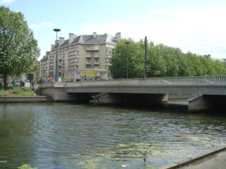 Caen - Orne Churchill bridge / Pont Churchill sur l' Orne