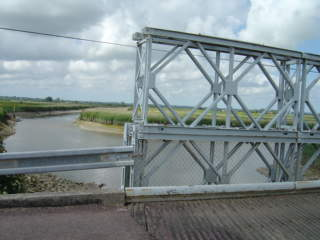 Bailey bridge - St Hilaire near Carentan