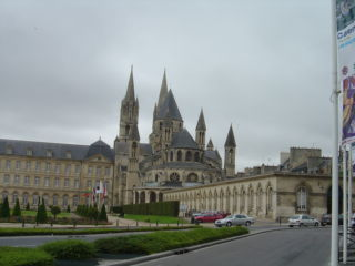 Caen - Men abbaye (William the Conqueror grave) / Abbaye aux hommes (Tombeau de Guillaume le Conquerant)