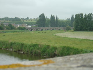 Pontaubault - Bridge / Pont : 01/08/1944