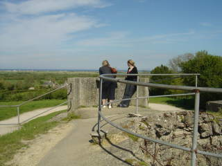 "Batterie de Crisbecq - 12/06/1944 : Au large ""Utah beach"" / Off the ""Utah beach""  cost"
